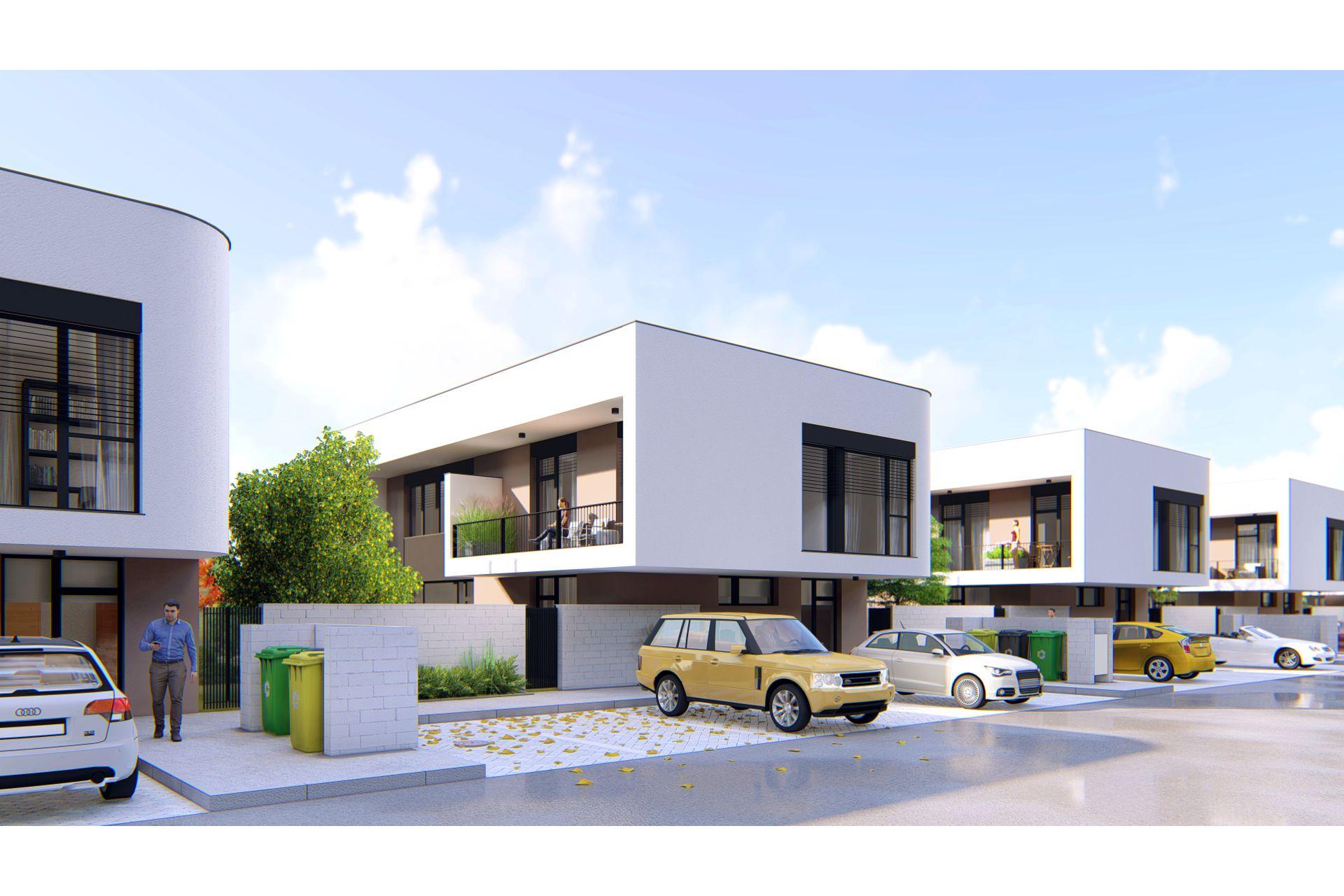 projekt Čierna Voda - 2 izby, záhrada, parkovanie