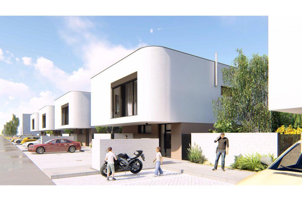 projekt Čierna Voda - 2 izby, terasa, parkovanie