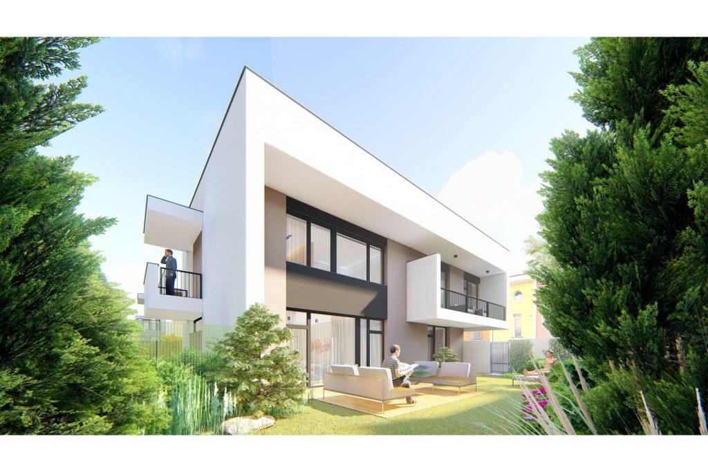 projekt Čierna Voda - 3 izby, záhrada, parkovanie